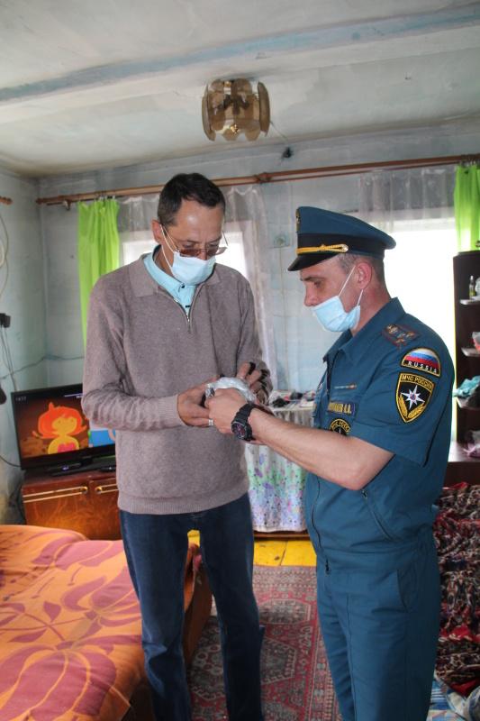 Государственные инспекторы по пожарному надзору приступили к тотальной проверке пожарной безопасности жилого сектора Зиминского района