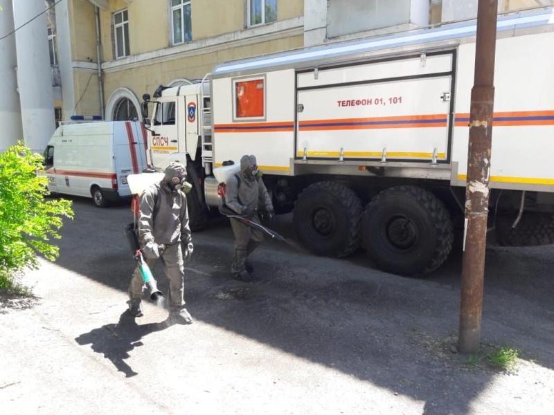 В Ростове-на-Дону началась масштабная дезинфекция