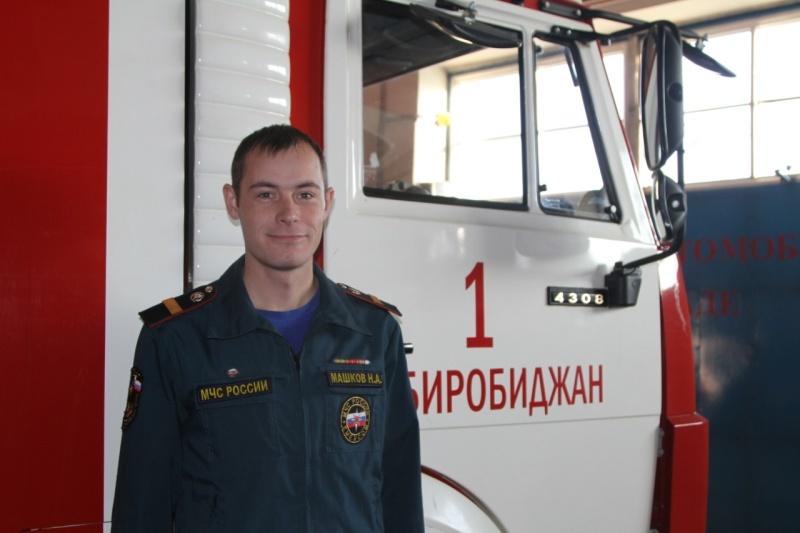 Виртуальную экскурсию в пожарную часть организовали в прямом эфире огнеборцы Биробиджана