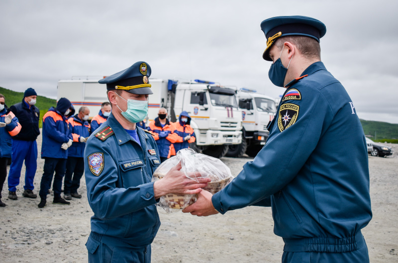 Группировка аэромобильного госпиталя МЧС России возвращается домой