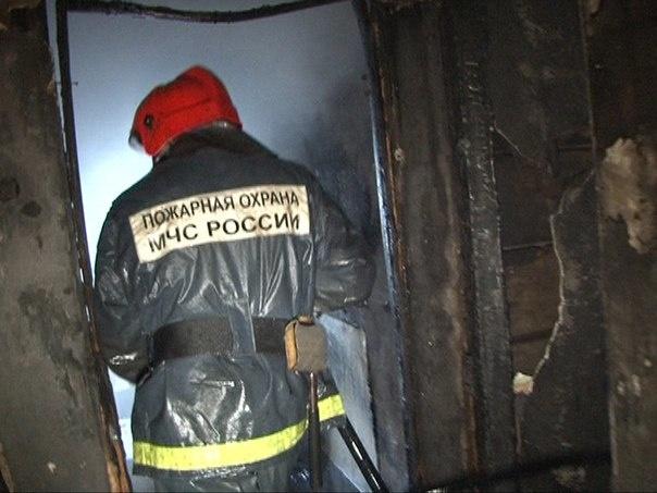 Спасатели ликвидировали пожар в Невском районе