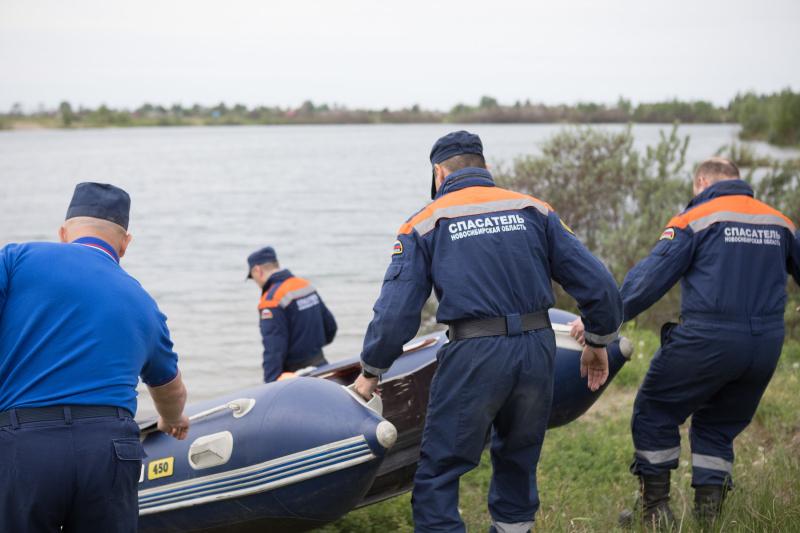 На водоемах Новосибирской области увеличилось число реагирований на оперативные события