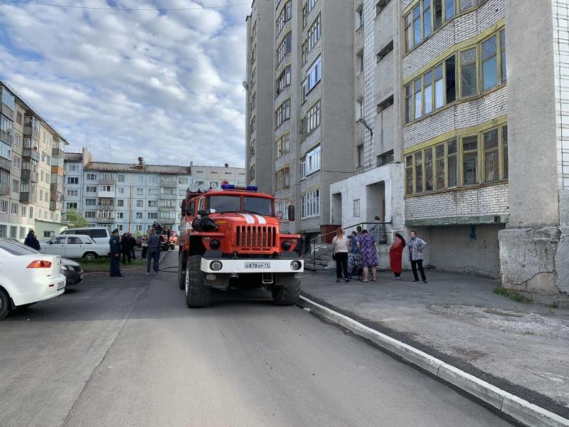 Пожар в г. Воркута , ул. Шахтерская Набережная, 10 ликвидирован