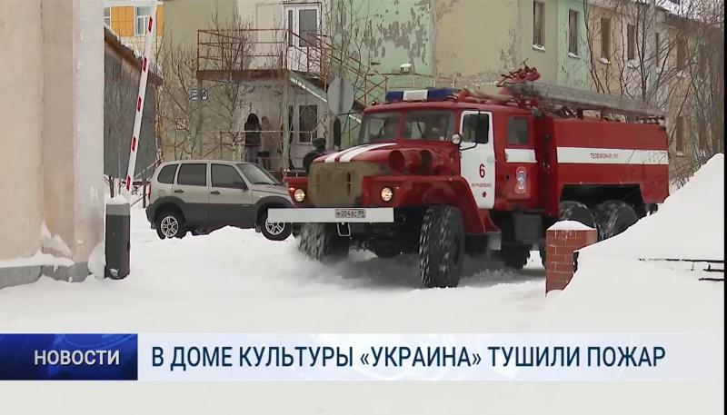 В Муравленко прошли пожарно-тактические учения