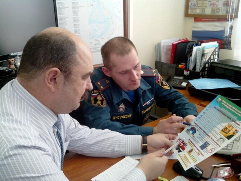 В Хабаровском крае сотрудники Госпожнадзора МЧС России обеспечивают соблюдение требований пожарной безопасности накануне общероссийского голосования
