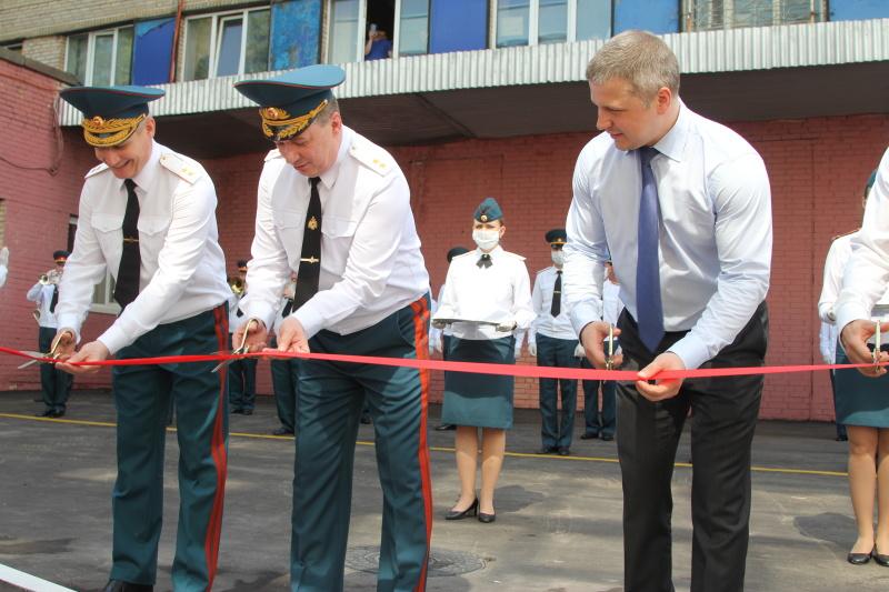 В Реутове прошло торжественное открытие комплекса зданий специализированной пожарно-спасательной части
