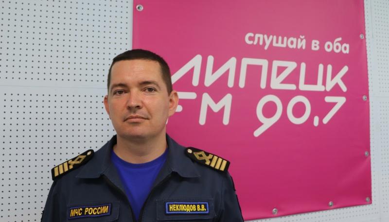"""Валерий Неклюдов в программе """"Визави"""" на Липецк-FM"""