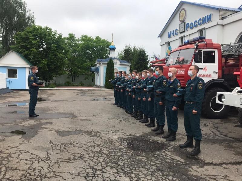 В подразделениях ГУ МЧС России по Калужской области прошла «Минута молчания»
