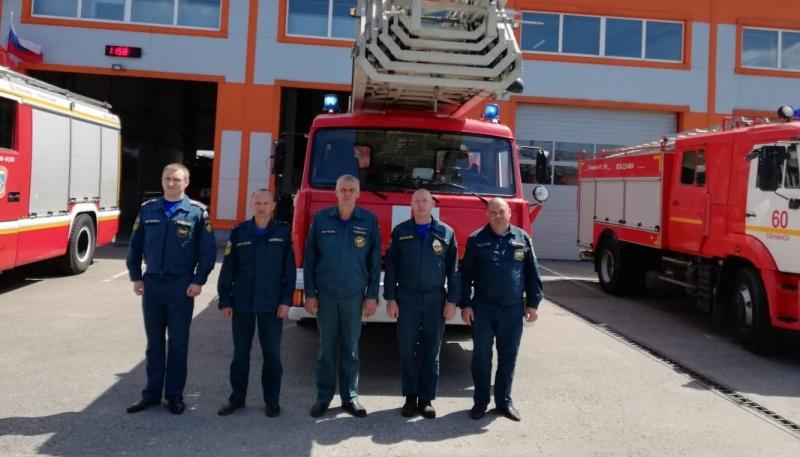 Пожарно-спасательные части калужского региона поддержали акцию «Весть Победы»