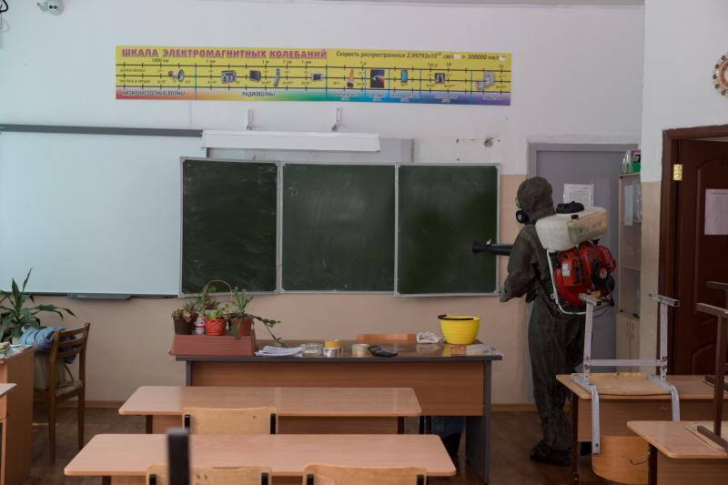 В Новосибирской области проведены санитарные обработки школ, задействованных в проведении ЕГЭ