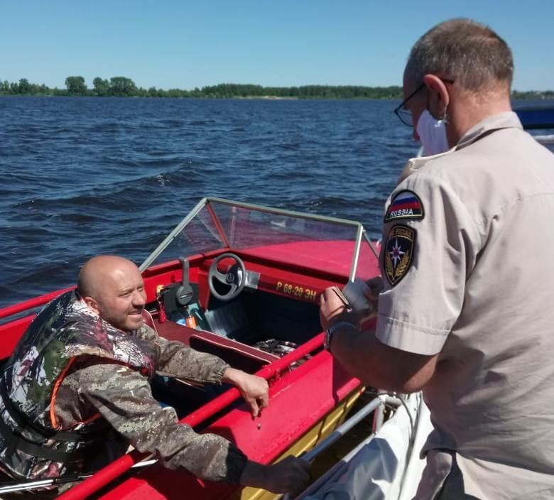 Инспекторы ГИМС усилили профилактику на акватории Костромской области