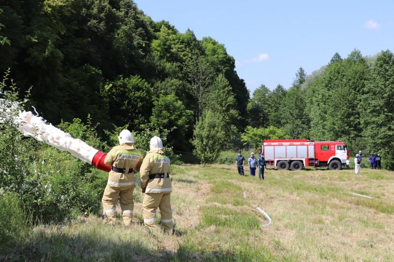 В Брянской области состоялись комплексные командно-штабные учения по ликвидации разливов нефтепродуктов