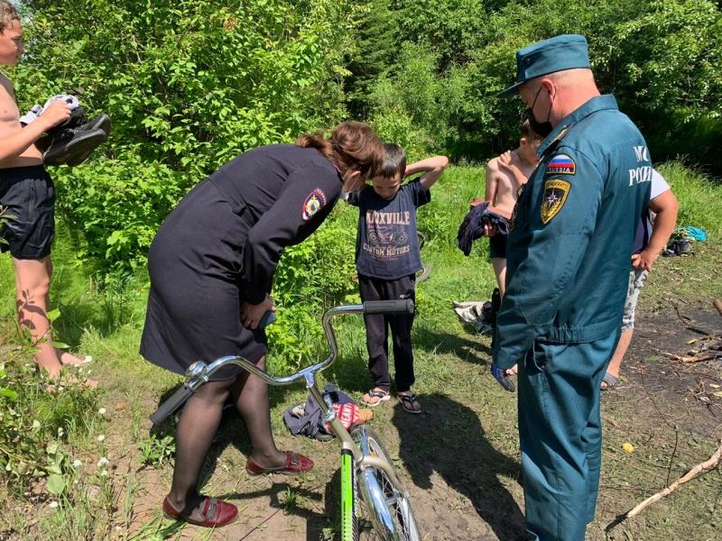 110 протоколов по фактам безнадзорного пребывания детей у воды составлено в Иркутской области с 1 апреля