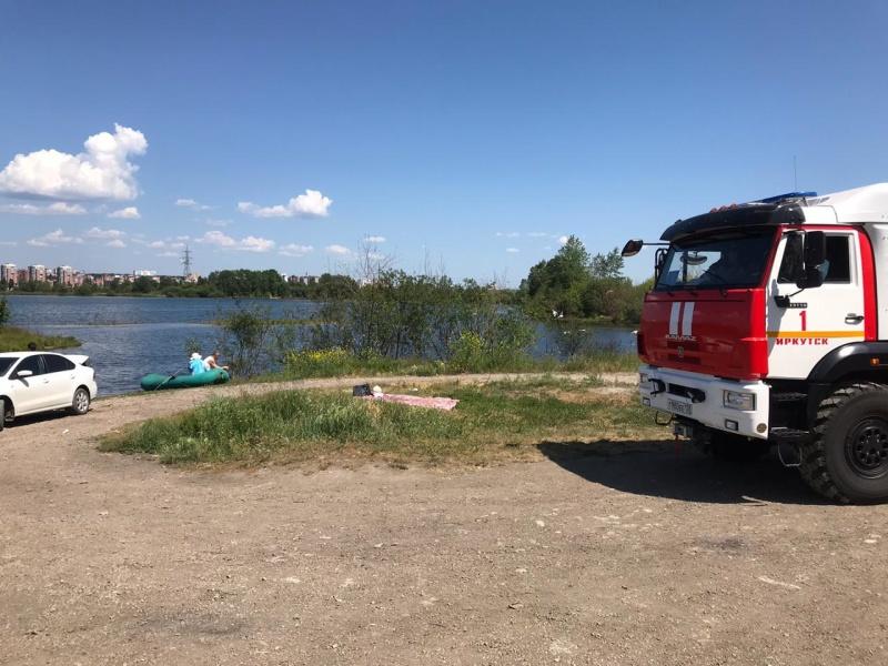 На водоемах города Иркутска проводится голосовое оповещение об опасностях купания в необорудованных местах