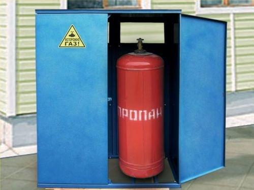 Внимание: газовый баллон