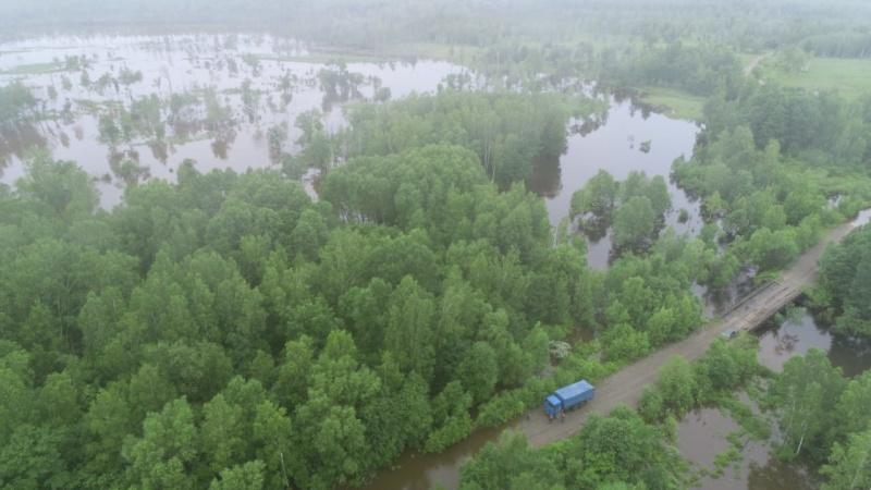 На контроле ГУ МЧС России по Хабаровскому краю прохождение дождевого паводка в Нанайском и Хабаровском районах