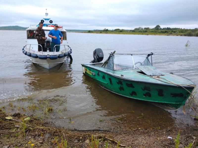 Комсомольские спасатели пришли на помощь заблудившемуся рыбаку