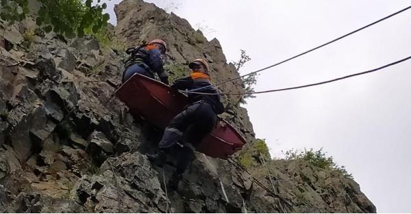 Спасатели с Комсомольска – на Амуре провели тренировку по поиску людей в горно-таежной местности