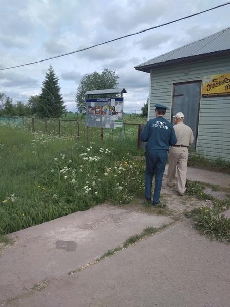 Сотрудники МЧС России провели профилактический рейд в Тотьме