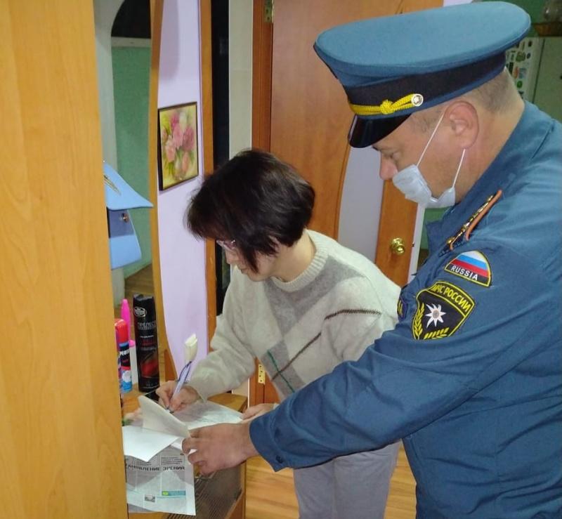 На особом контроле у сотрудников МЧС России дома 5 степени огнестойкости