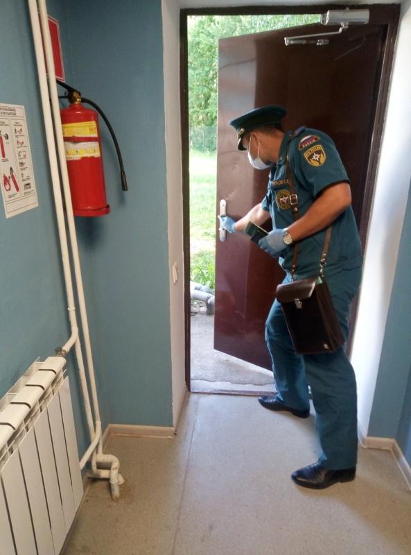 Детская безопасность на контроле    сотрудников МЧС России