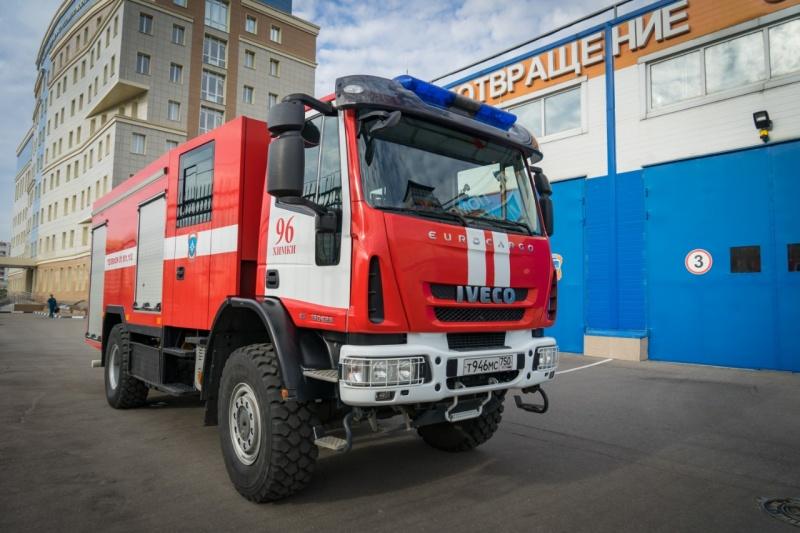 Техника МЧС России. Автоцистерна пожарная АЦ 3,2-40/2 (IVECO ML150)