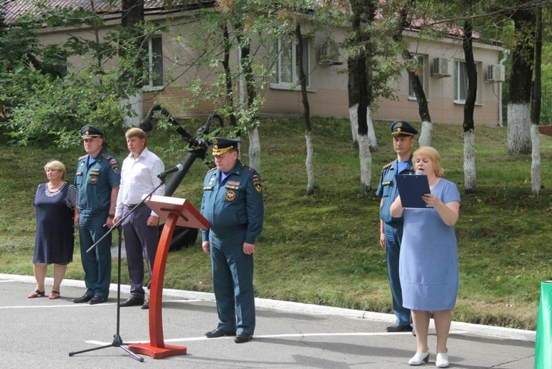 Ряды Главного управления МЧС Росси по Хабаровскому краю пополнились молодыми специалистами
