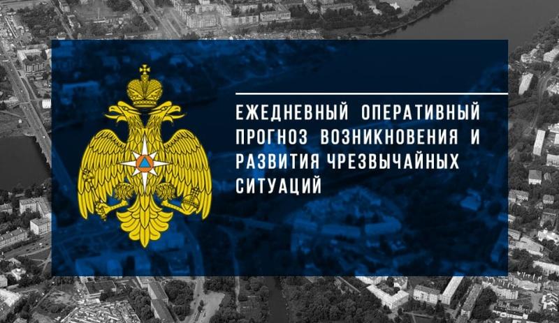 Ежедневный оперативный прогноз возникновения и развития чрезвычайных ситуаций на территории Псковской области на 3 августа 2020 года