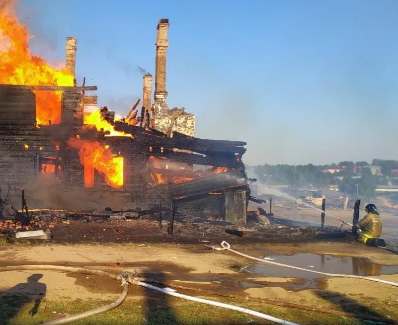 За 7 месяцев 2020 года в Вологодской области ликвидирован 1181 пожар