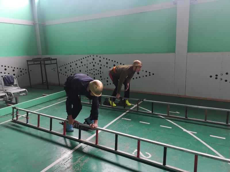 Соревнования по пожарно-прикладному спорту прошли среди пожарных Комсомольска-на-Амуре