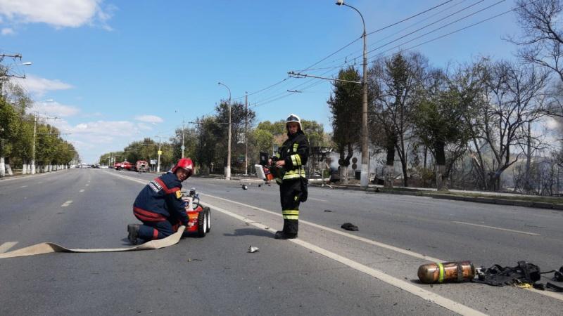 В 12.46 (мск) локализован пожар в Тракторозаводском районе г.Волгограда