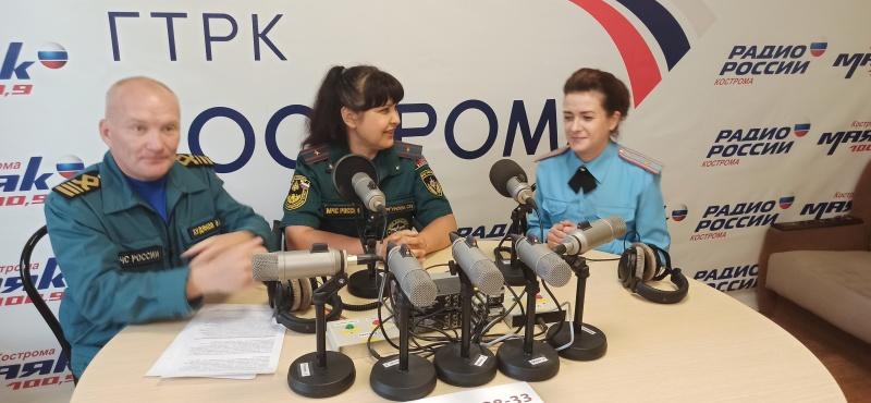 Радиоэфир по безопасности жизнедеятельности 12.08.2020