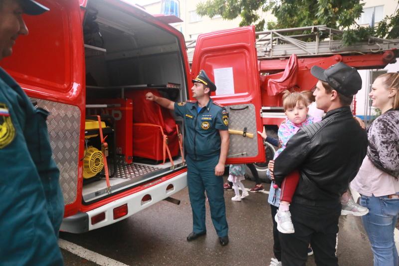 Автопробег пожарной техники по Ставрополью