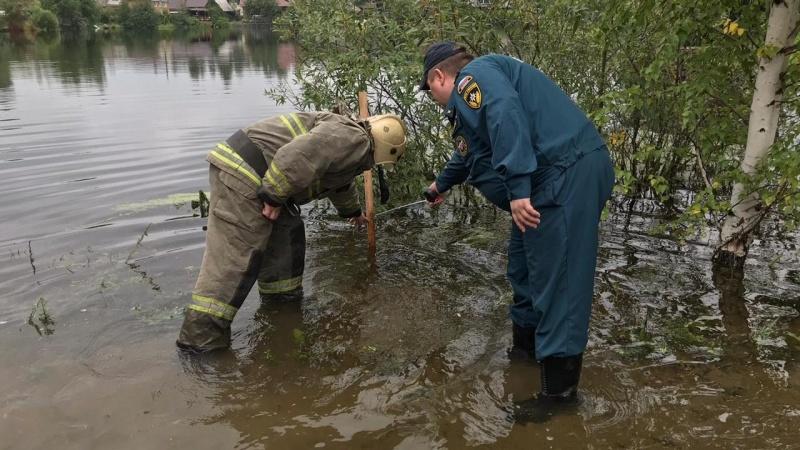 Паводковая обстановка под Нижним Тагилом стабилизировалась (ФОТО,ВИДЕО,СИНХРОН)