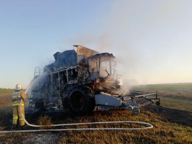 """В этом году на территориях сельхозпредприятий республики произошло пять пожаров (""""Национальное телевидение Чувашии"""")"""