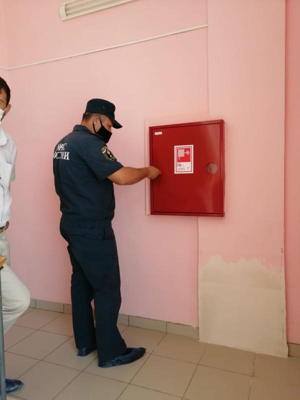 В Красноярском районе Астраханской области прошли проверки образовательных учреждений