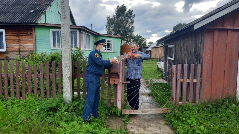 Сотрудники Главного управления провели профилактический рейд в Белозерске