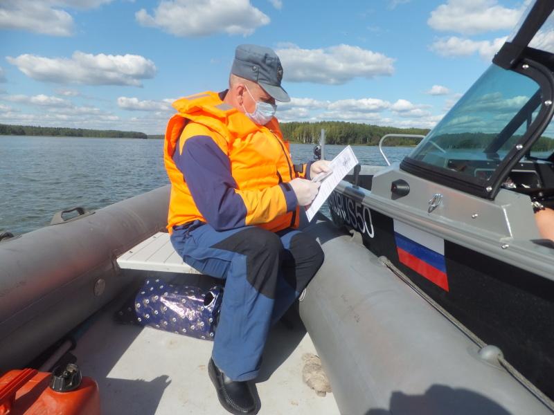 Безопасность на водоемах под контролем специалистов ГИМС