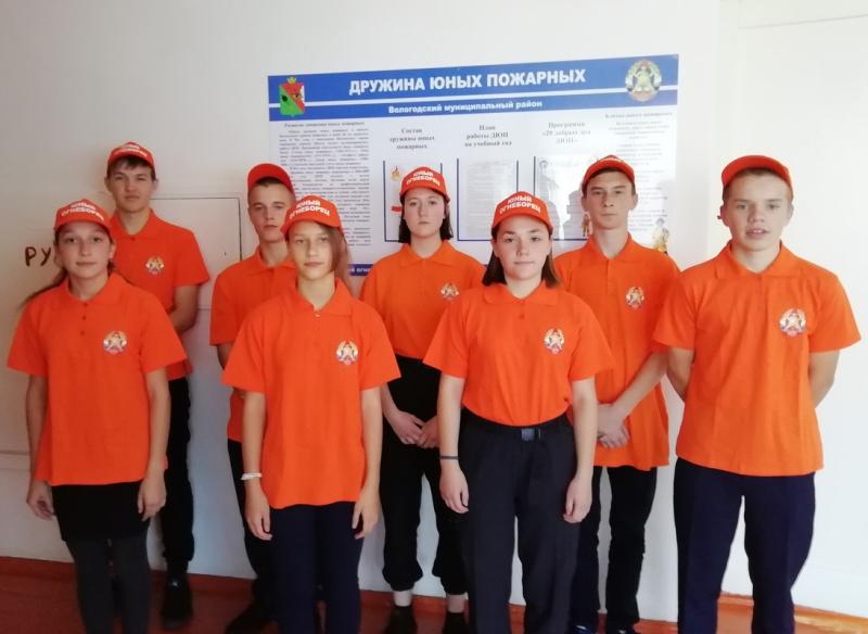 В Вологодском районе начался месячник пожарной безопасности
