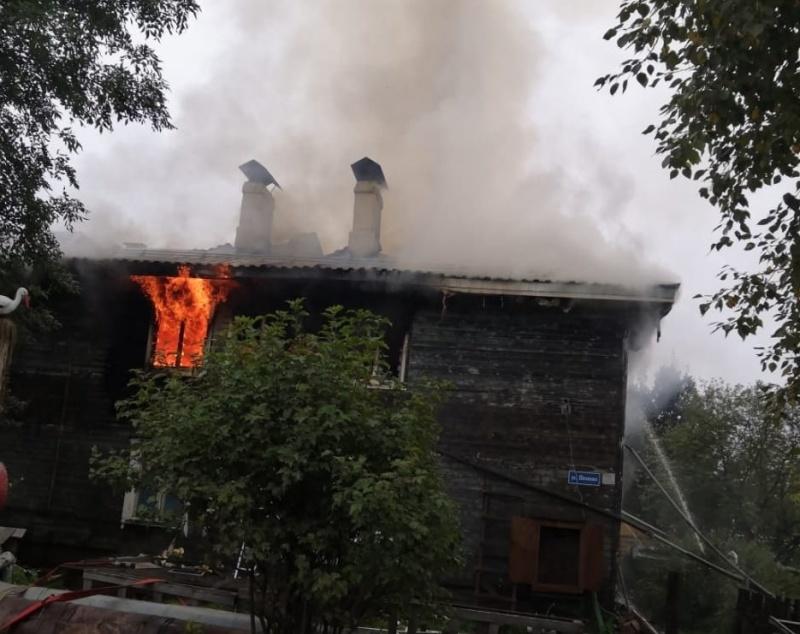 В первую неделю сентября в регионе произошло 45 пожаров