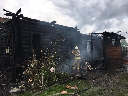 За минувшие сутки в регионе ликвидировано 7 пожаров