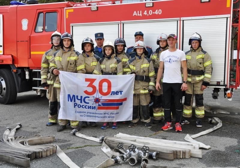 VII Межрегиональные полевые лагеря Северо-Кавказского федерального округа «Юный спасатель», «Юный пожарный» и «Юный водник»