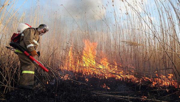 Пожароопасность в регионе сохраняется