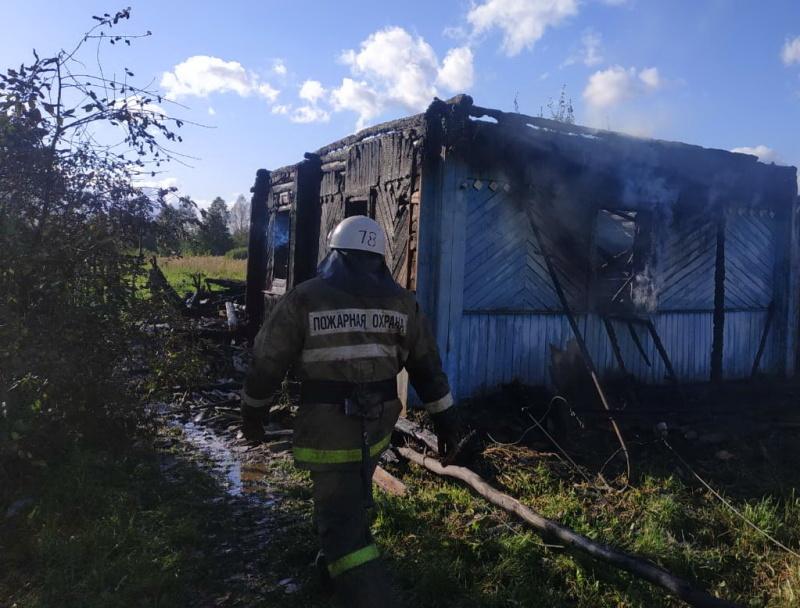 Бдительные и смелые соседи спасли двух пенсионеров из пожара