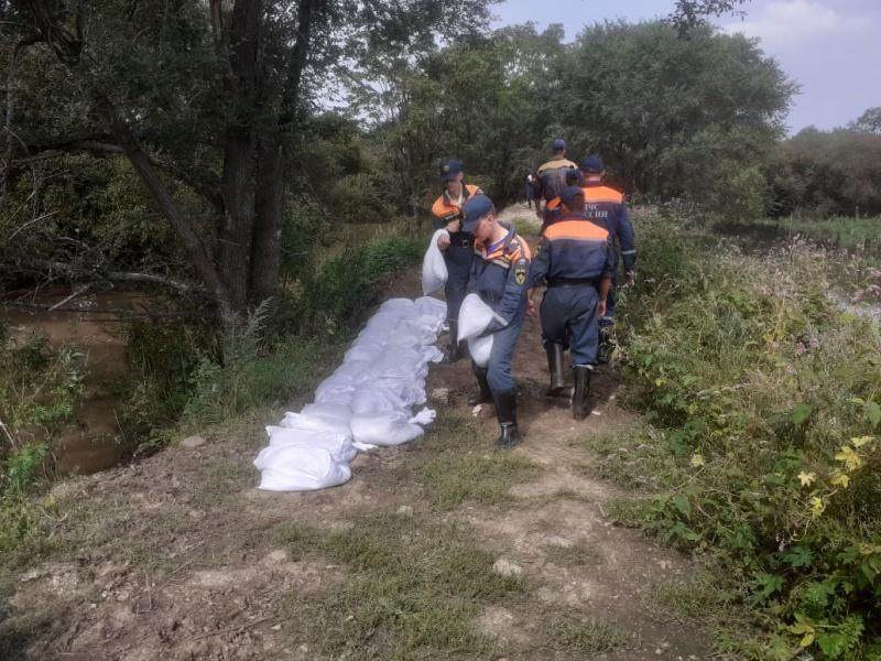 Паводковая ситуация в Приморье стабилизируется