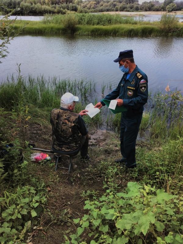 В Ахтубинском районе прошли пешии патрули ГИМС