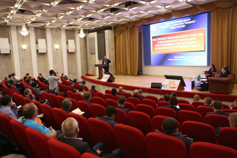 В МЧС России обсудили развитие системы оказания помощи пострадавшим в ДТП