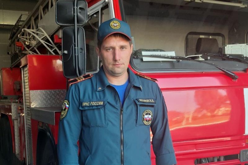 #РовесникиМЧС: Василий Козлов - пожарный 1 СПСЧ г.Курска