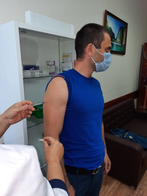 В Главном управлении проходит  прививочная кампания против гриппа