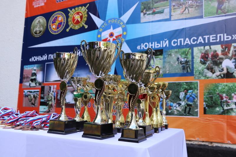 Команда Новочиркейской СОШ №1 стала победителем  Межрегиональных соревнований  полевых лагерей